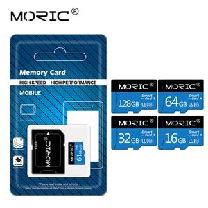 100% Original Moric Micro SD Card SD/TF Flash Card memory Card Class 10 64GB 128GB 256GB 4GB 8GB 16GB 32GB