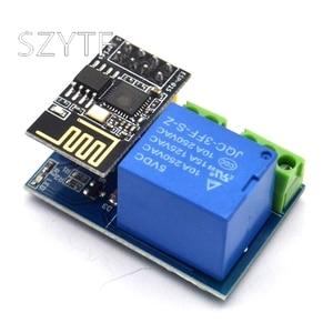 Image 5 - ESP8266โมดูลรีเลย์5V WiFi Esp 01sกิจกรรมสมาร์ทรีโมทคอนโทรลสวิตช์ควบคุมโทรศัพท์APP