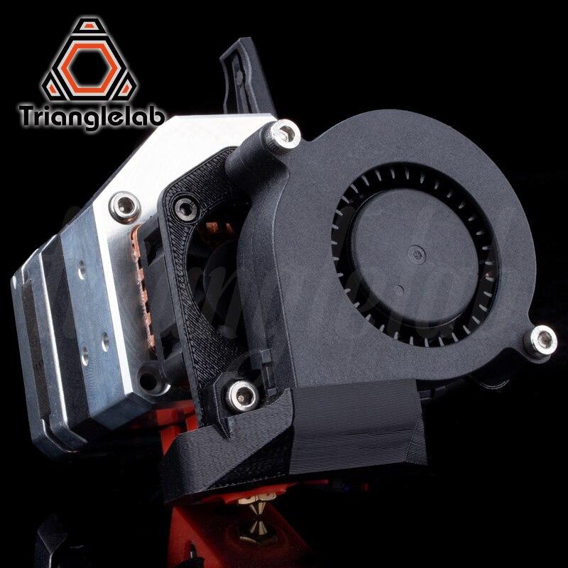 Trianglelab AL-BMG-Refrigerado A Ar de Acionamento Direto Extrusora hotend kit de atualização para Criatividade 3D Ender-3 BMG/CR-10 impressora da série 3D