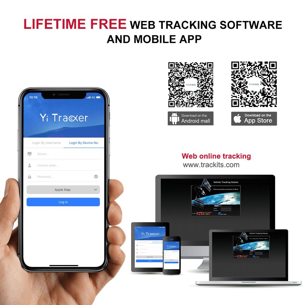 GPS Per Auto Tracker Vehicle Tracker 3G 4G GPS Tracker Per Auto Localizzatore Chilometraggio Rapporto in tempo Reale Più di velocità di Trasporto Web APP Localizzatore GPS - 6