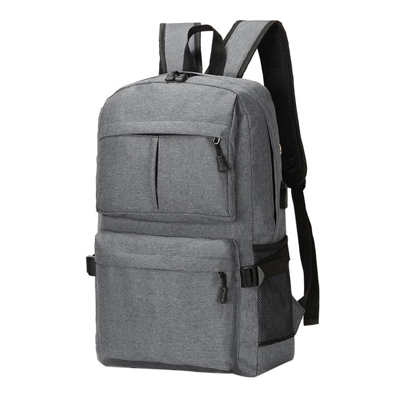 OEAK Casual Business Men Computer Backpack Light 15.6-inch Laptop Bag 2019 Lady Anti-theft Travel Backpack Gray Blue Black