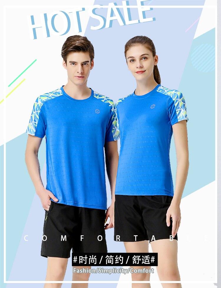 2020 homem e mulher esportes badminton roupas