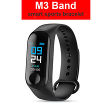 M3 Smart Band Fitness Tracker VS M4 Smart Bracelet Blood Pressure Heart Rate Monitor for xiaomi(China)