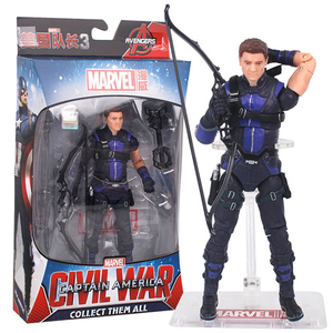 Image 5 - Avengers Marvel Legends Hero Hawkeye Action Figure Doll Toys Model Joints Can Move Collection Gift Toy For Children Kids Boy