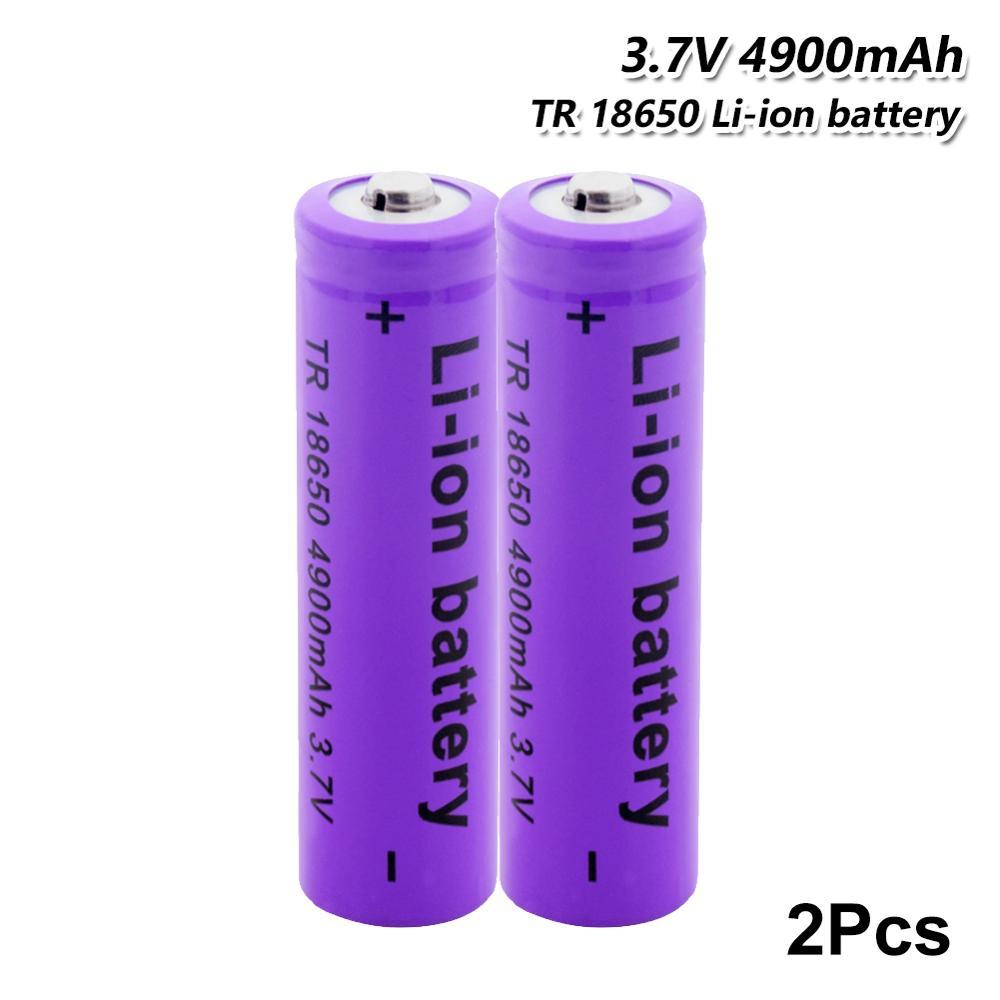 YCDC, 4900 мАч, 3,7 в, 18650, литий-ионные аккумуляторные батареи, Высококачественная аккумуляторная батарея для фонарика, факфонарь, радиоуправляем...