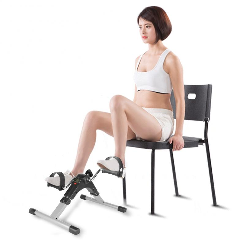 Fitness Equipment Cycling Stepper Exercise Bike Mini Treadmill Running Indoor Mini Furniture Accessories E Body Building Leg HWC
