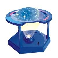 Sun Earth Moon Orbital Model + Star Planetarium Projector Science DIY Project Birthday Gift for Kids Children Student