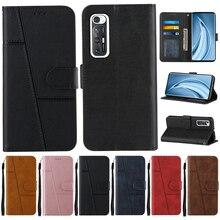Redmi Note 10 Pro 10S Case Flip Wallet Case Op Voor Xiaomi Redmi Note 10 10S Note10 Pro max Leather Cases Bescherm Cover Vrouwen Mannen