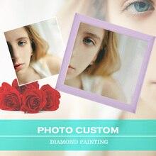 Photo Custom,Full Round,Diamond Painting Cross Stitch,Home Decor,Diamond Embroidery,5D,Diamond Mosaic,Rhinestone Painting Gift