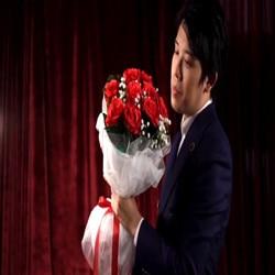 Il Bouquet (Rosso) da Bond Lee e MS Magia, 9 Fiori-Trucco Magico, espedienti, close Up Magic, Palcoscenico Magia Porps, Giocattoli Classic Magie