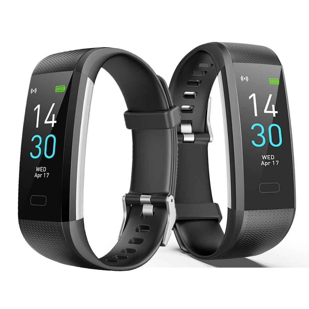 Цветной экран S5 умный Спортивный Браслет фитнес трекер умные часы Все совместимые напоминания о сообщениях спортивные смарт браслеты для мужчин|Смарт-браслеты|   | АлиЭкспресс