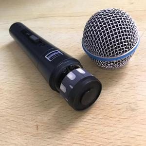 Image 4 - BT58A Interruttore Professionale Vintage Palmare Vocal Microfono Dinamico Per beta 58a beta58a Karaoke Musica Studo Della Fase Del Partito Mic