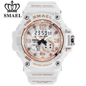 SMAEL Sport Watches Clock Digital Waterproof Fashion Women Ladies Quartz Multifunctional