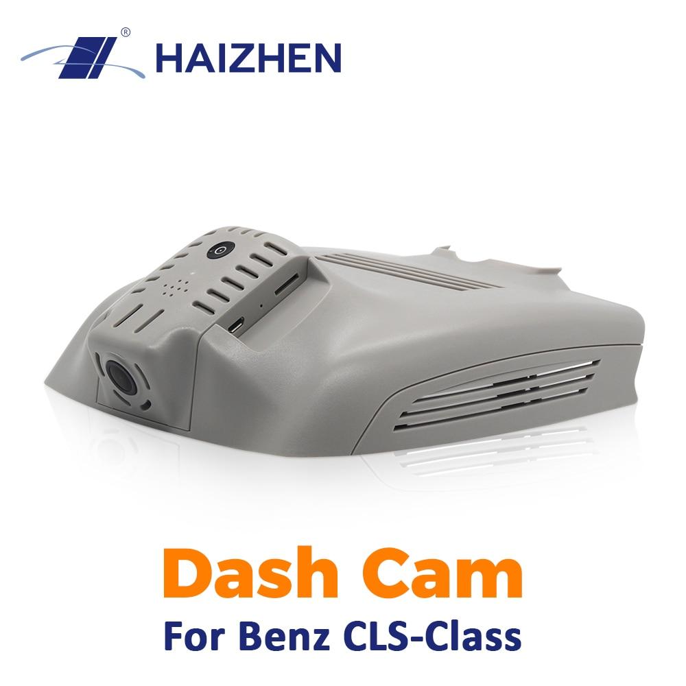 Oryginalna kamera samochodowa HAIZHEN F1.4 1920x1080P kontrola aplikacji WiFi ukryty styl kamera na deskę rozdzielczą dla Benz CLS wideorejestrator darmowa wysyłka