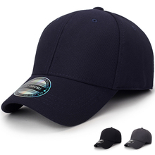 High Quality solid color Baseball Cap Women Men Fitted Close