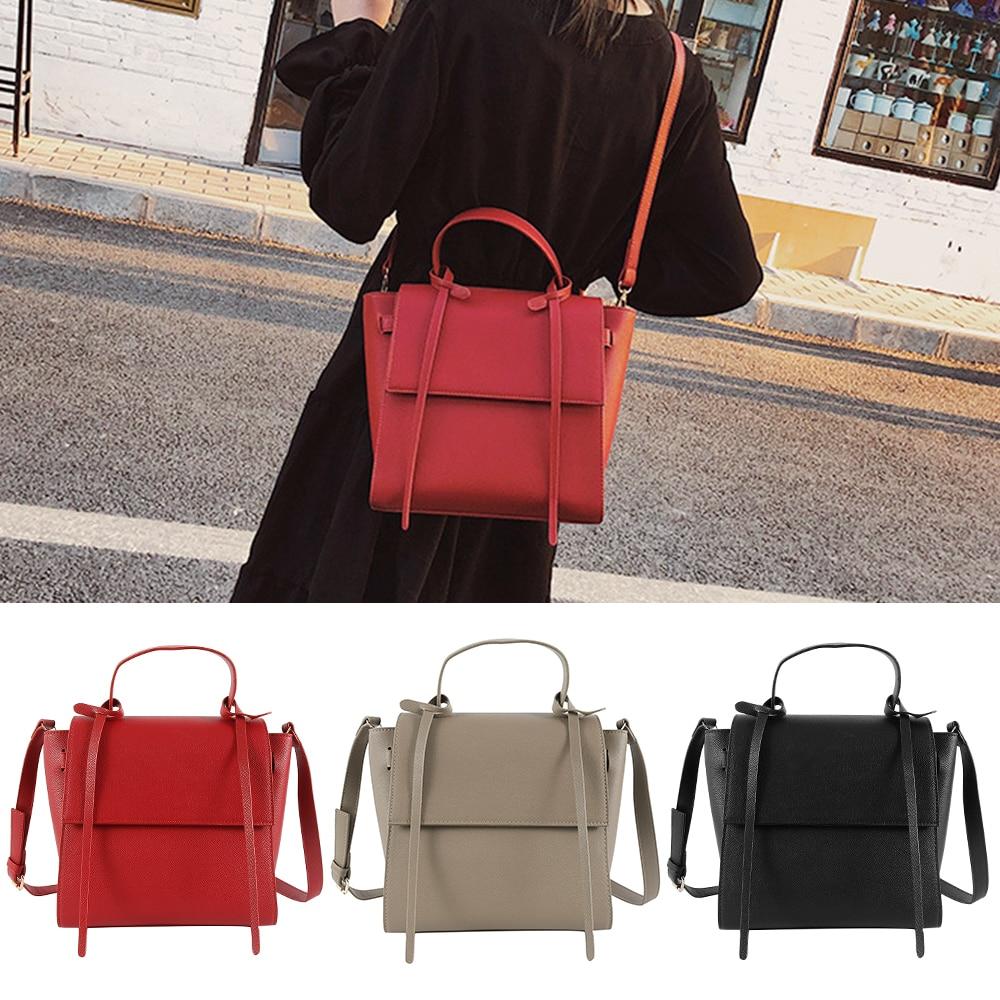 2019 women's shoulder bag PU leather handbags stylish crossbody bags for women