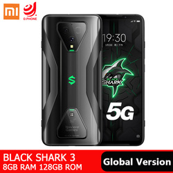 Xiaomi Black Shark 3 8GB 128GB smartfon do gier 5G Snapdragon 865 Octa Core 6.67