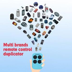 Image 1 - Multi Frequentie Rolling Garage Deuren Afstandsbediening Ontvanger Duplicator, voor Vaste Code En Rolling Code Zender 433/868Mhz