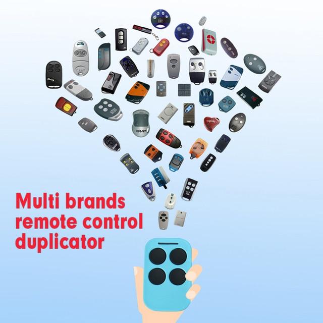 Multi Frequentie Rolling Garage Deuren Afstandsbediening Ontvanger Duplicator, voor Vaste Code En Rolling Code Zender 433/868Mhz