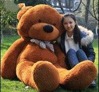 Giant 63'' Big Brown Teddy Bear Huge Stuffed Animals Plush Soft Toys Doll Gift Stuffed Animals Cute Plush Toys For Children