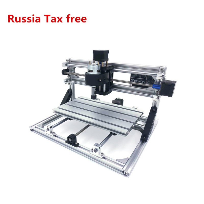 2020 newest Disassembled pack mini CNC 1610 PRO without laser or with laser head laser engraving machine with GRBL control