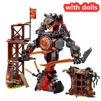 734 PCS 10583 Figures Set Compatible Dawn of Iron Doom 70626 Building Blocks Toys for Kids Block  1