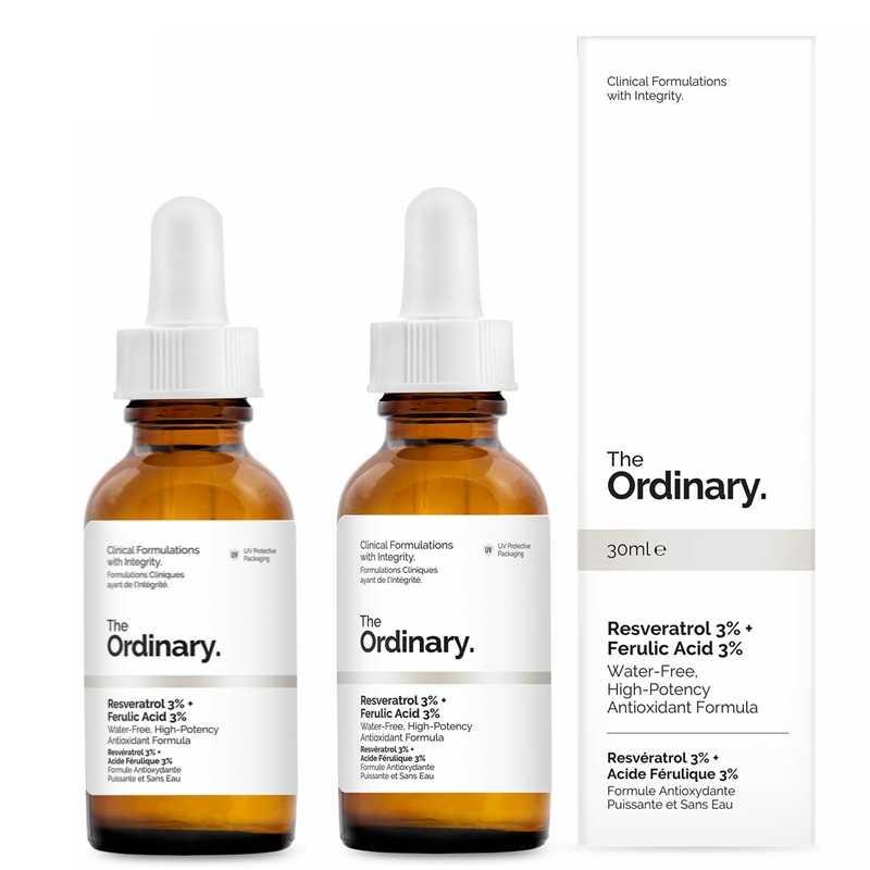 The Ordinary Resveratrol 3 Ferulic Acid 3 Essence Liquid