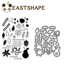 Eastshape Gardening Tools Rubber Clear Stamp Metal Cutting Dies Scrapbooking 2019 New and Stamps DIY Card Decor