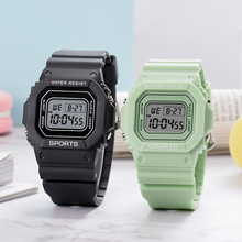 Fashion Luminous Men Sports Digital Watches Stopwatch Alarm