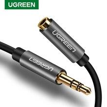 Ugreen 3.5mm 연장 케이블 남성 여성 Aux 오디오 케이블 헤드폰 케이블 3.5mm 아이폰 6s MP3 MP4 플레이어에 대 한 확장 된 케이블