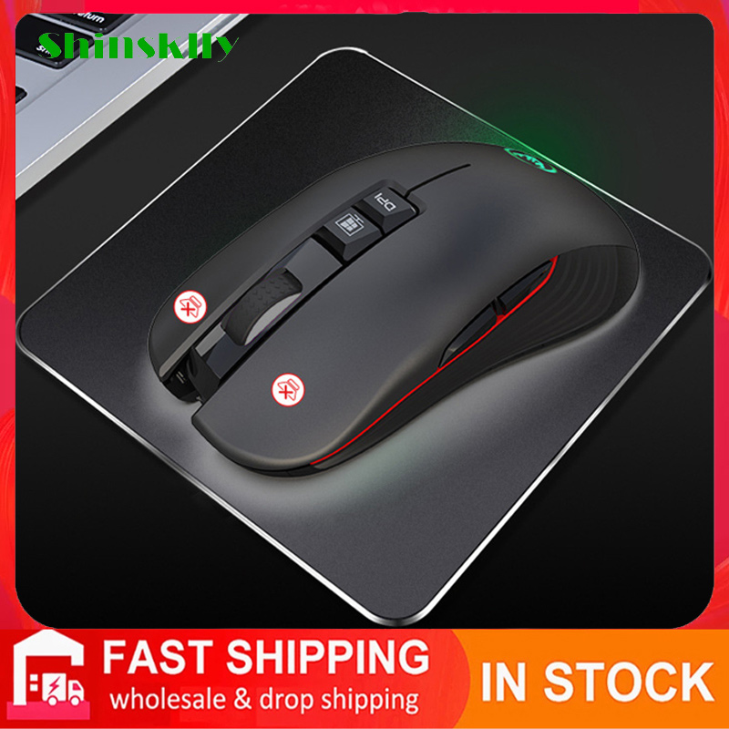 Wireless Mouse 3600 DPI Computer Mice Gamer Silent Wireless Gaming Mouse Ergonomic Optical 2.4G Mouse Wireless For Laptop PC
