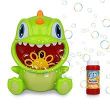 Cartoon Dinosaur Shaped Electric Manual Automatic Bubble Maker Lighting Effects Music Sound Bubble Machine Children Toys#2