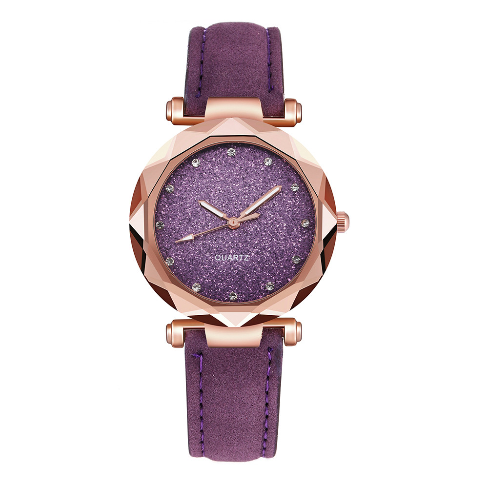Womens watches Ladies fashion Colorful Ultra-thin leather rhinestone analog quartz watch Female Belt Watch YE1 H06baaa145fc749c7a00396246bfe02bbs