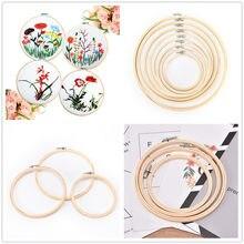 13/15/18/21/23/26/30/34cm de bambu anéis de argola bordado aros quadro conjunto para diy ponto cruz agulha artesanato ferramentas