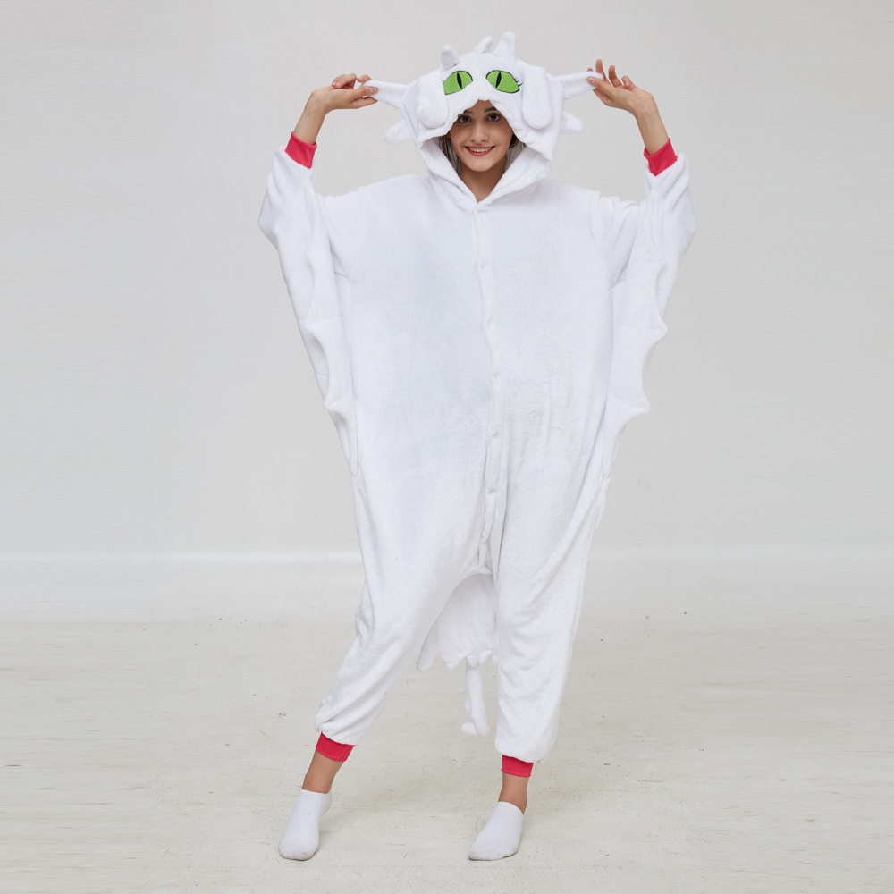 How To Train Your Dragon Toothless Night Fury Kigurumi Costumes Men Women Animal Panda Jumpsuit Onesies Minnie Mous Pajamas