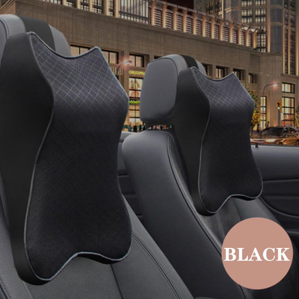 Автомобильная подушка для шеи, 3d подушка с эффектом памяти, регулируемая Автомобильная подушка для подголовника, подушка для путешествий, подушка для шеи, держатель, подушка с поддержкой Holde|Опоры сидений|   | АлиЭкспресс