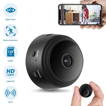 WiFi Camera with Motion Detection IR Night Vision HD 1080P mini Home Security Camera Video secret hidden Remote Monitor