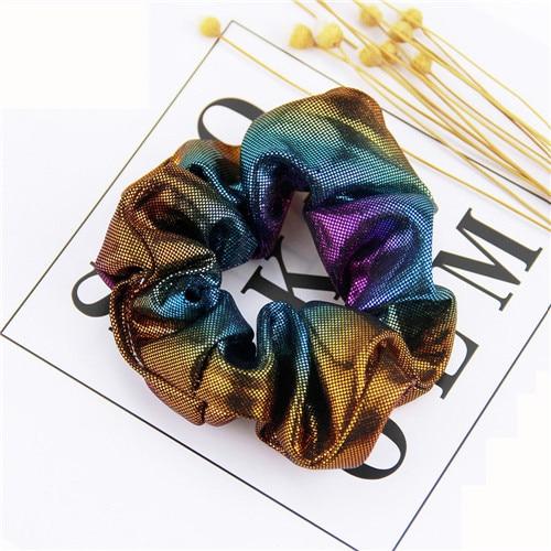 Корейский женский ободок для волос для девочек, полосатые женские резинки для волос, конский хвост, Женский держатель, веревка с ананасовым принтом, аксессуары для волос - Цвет: m2