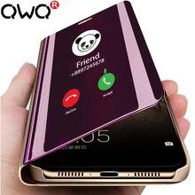 Прозрачный откидной Чехол для телефона huawei honor 10 9 Lite 20 Pro 10I 20I nova 3 3i 3e 4e 4 Lite роскошный зеркальный защитный чехол s