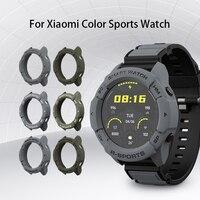 SIKAI 2021 nuova custodia per Xiaomi Mi Smart Watch colore versione sportiva Smart Watch TPU Shell Protector Cover Band Strap Bracelet