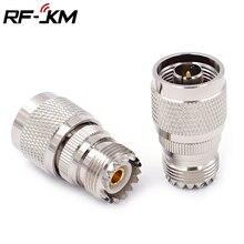 N Тип Штекерный к UHF SO239, гнездо, RF коаксиальный разъем адаптера