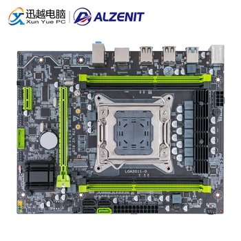 Carte mère ALZENIT X79M-CE5 pour Intel X79 LGA 2011 Xeon E5 prise en charge ECC REG DDR3 128GB M.2 NVME USB3.0 carte mère serveur M-ATX