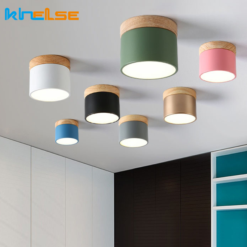 Led Downlight Wood Ceiling Lamp