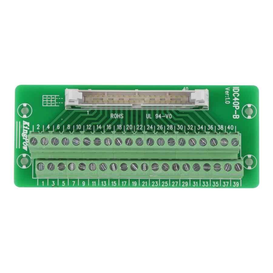 PLC Adapter Interface PLC Terminal Block Connector Male Header Board IDC40P