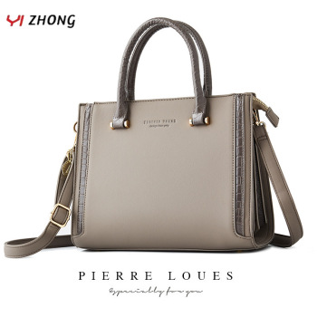 YIZHONG Leather Luxury Handbags Women Bags Designer Large Capacity Shoulder Bag Simple Crossbody Bags for Wome  Messenger Bags fashion letter canvas handbag women messenger shoulder bag large capacity travel bag luxury designer crossbody bags for women
