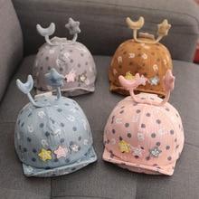Cap 3M-12M spring, autumn, winter  baby turban hat kids gorros bebe girl hats pom Y365