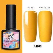 1 Bottle 8ml MAD DOLL Color Nail Gel Spring Series Gel Polish Soak Off LED UV Gel Varnish Nail Art DIY Nail Art Design