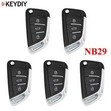 5 PCS, KD900 KD900 + URG200 KD X2 NB 시리즈, KEYDIY NB29 용 다기능 범용 리모콘 (하나의 키에 모든 기능 칩)