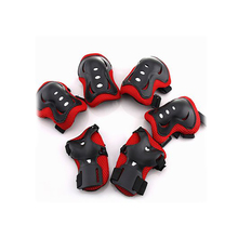 Kids Outdoor Sports Protective Gear Knee Pads Elbow Pads Wrist Guards Roller Skating Safety Protection 6 Pieces