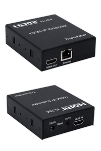 Image 3 - 150M HDMI IP Extender Via RJ45 Ethernet Network Cat6 Cat 6 6a Cable Extension Support 1 TX 50 RX Transmitter Receiver IR UTP/STP